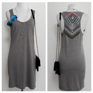 NEW Chelsea & Violet Tribal Beaded Racerback Dress
